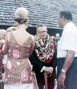 The Honorable H. Rex Lee, governor of American Samoa.