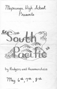 South Pacific program
